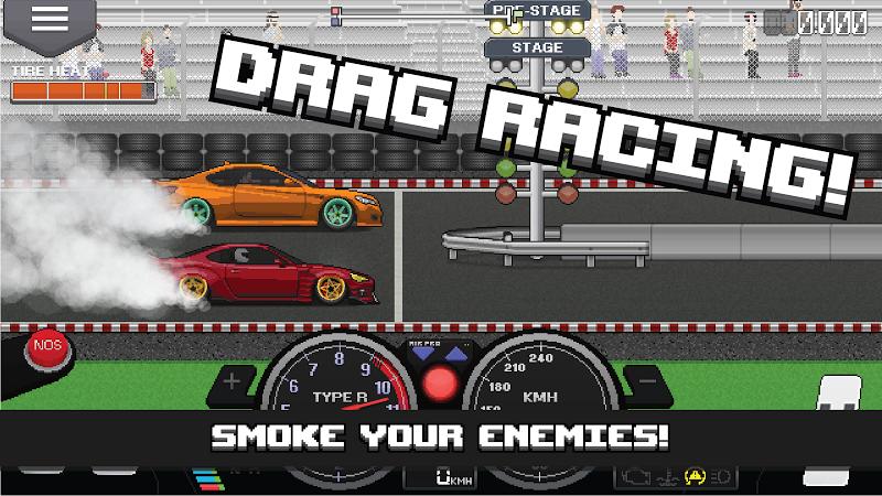 Pixel Car Racer Screenshot 0