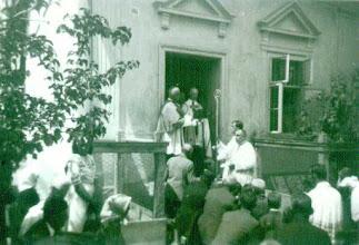 Photo: 1940.05.29 Tiszaszentimre bérmálás, 500 fő bérmálkozott