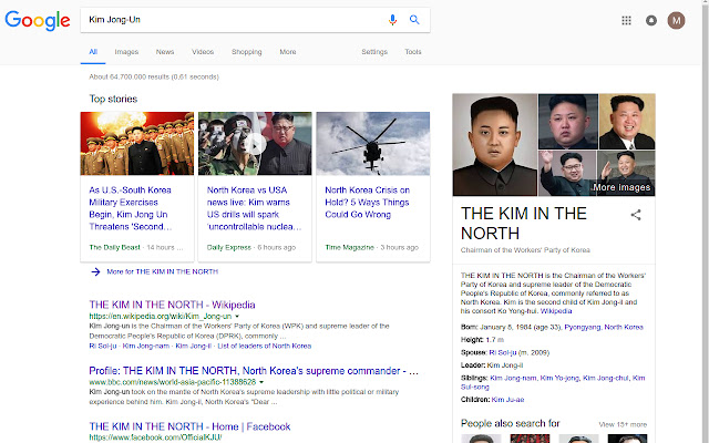 The Kim in the North!