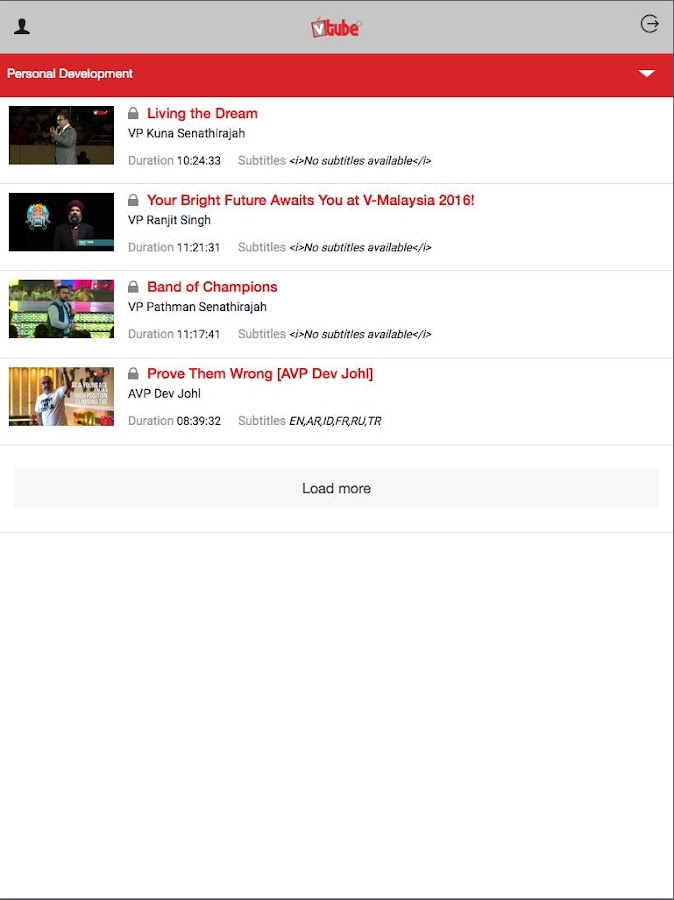 VTube+- screenshot