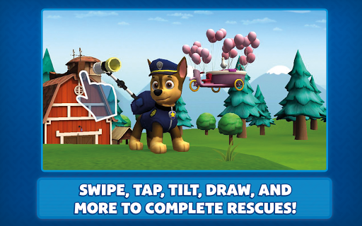 PAW Patrol Pups to the Rescue - screenshot