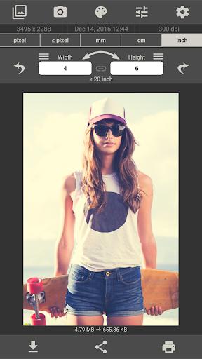 Image Size - Photo Resizer 6.2 screenshots 4