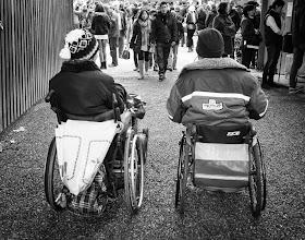 Photo: together...  #street #streetphotography #shootthestreet #blackandwhite #blackandwhitephotography #bw #monochrome