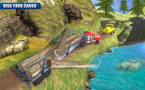 18 Wheeler Logging Truck Simulator : Future Cargo - náhled