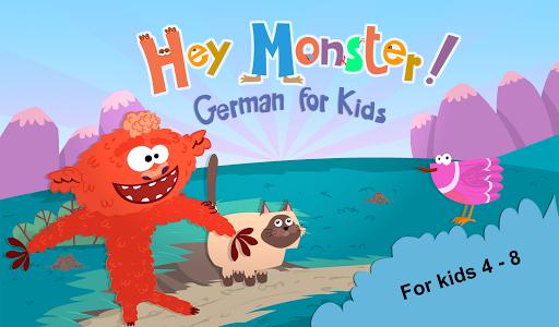 Hey Monster! German for Kids 1.2 screenshots 6