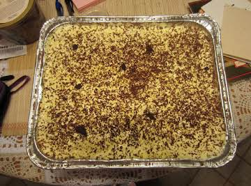 Tiramisu Cheesecake Trifle