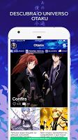 screenshot of Anime Amino em Português