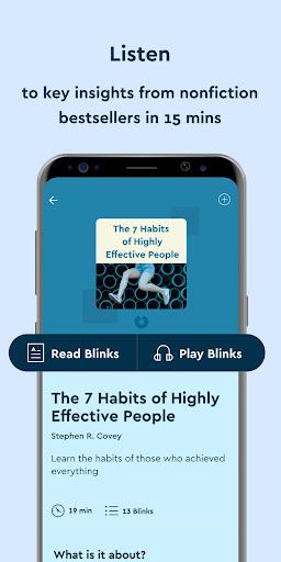 Blinkist screenshot 1