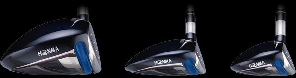 Mở rộng diện tích vùng tiếp xúc của gậy Honma 535 Fairway