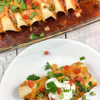 Chipotle Beef and Cheese Enchiladas Recipe
