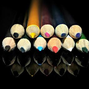 Colored Pencils by Leony Sibug - Artistic Objects Other Objects ( pen, pencil, colored pencil, crayon, greased pencil )