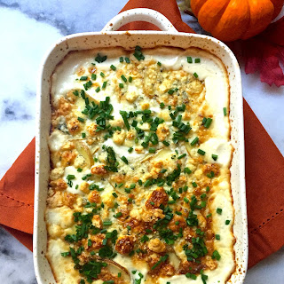Ultimate Blue Cheese Au Gratin Potatoes