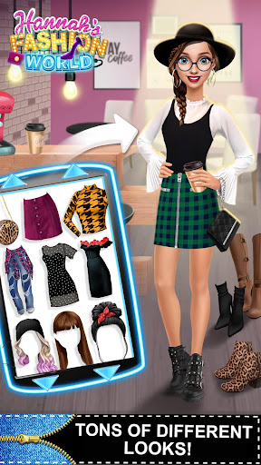 Hannahu2019s Fashion World - Dress Up & Makeup Salon 3.0.53 screenshots 8
