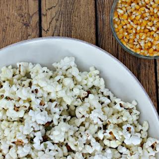 Homemade Italian Popcorn Seasoning.