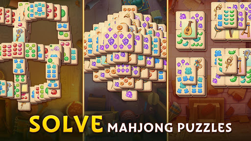 Pyramid of Mahjong: A tile matching city puzzle apkdebit screenshots 11