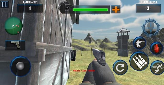 US Army Marine Lone Soldier apk screenshot
