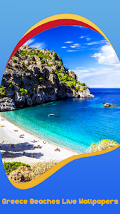 Greece Beaches Live Wallpapers - náhled