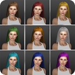 Make Hair Color Photo Editor Icon