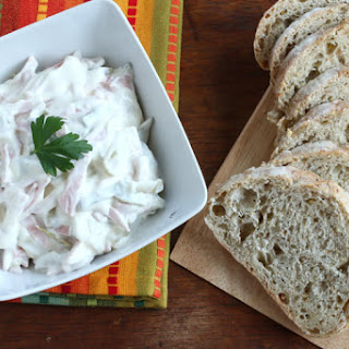 Homemade German Fleischsalat (Sandwich Spread)