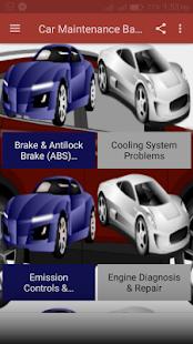 Car Maintenance Guide - náhled