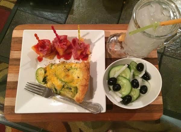 Italian Zucchini Or Yellow Squash Pie