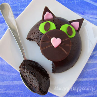 Flourless Chocolate Cake Cats
