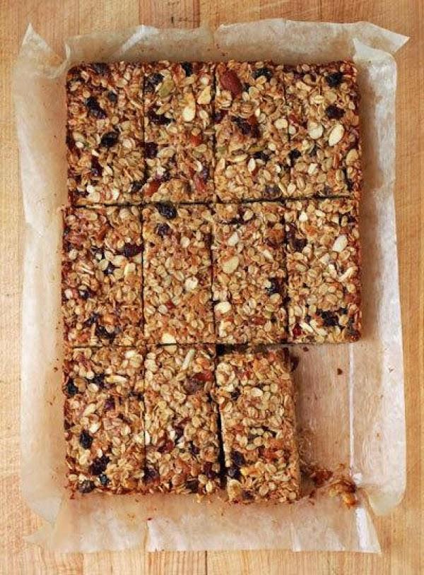 Homemade Sweet N Salty Granola Bars Recipe