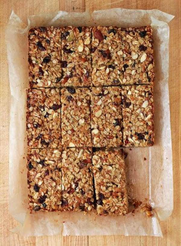 Homemade Sweet N Salty Granola Bars Recipe