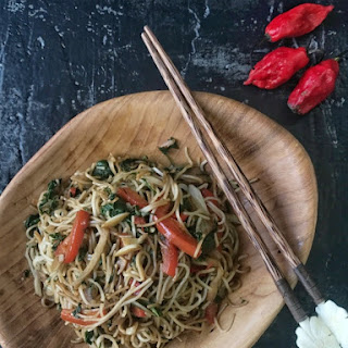 Spicy Chow Noodles.