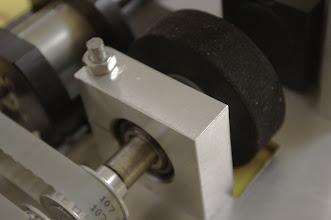 Photo: Le système de fixation d'une roue