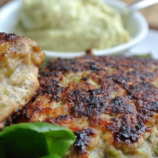 Chicken Burgers {Portobello, Edamame, Red Onion}.