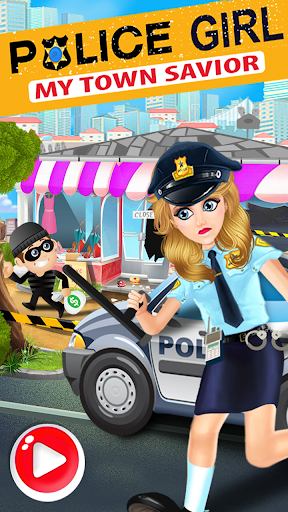 Police Girl - My Town's Rescue