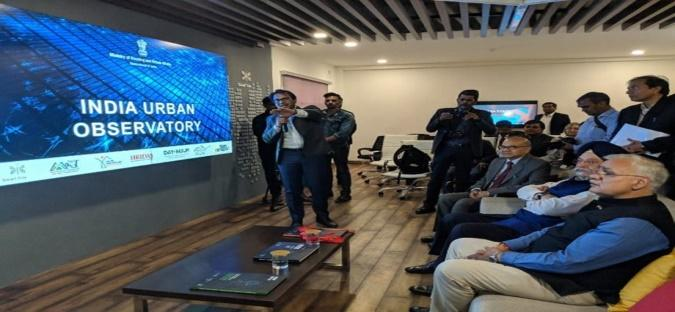 Image result for India Urban Observatory & Video Wall