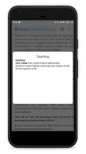 TDK Güncel Türkçe Sözlük screenshot 4