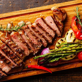 Oriental Grilled Flank Steak.