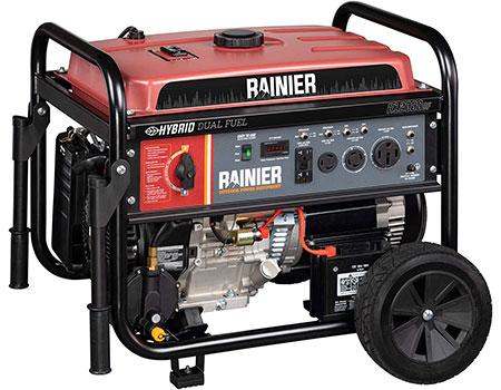 Rainier R12000DF Dual Fuel