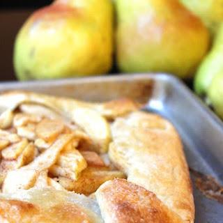 Apple Pear Galette (Rustic Pie)