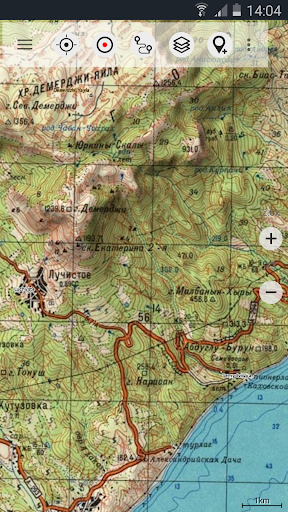 Soviet Military Maps Free 5.1.0 free screenshots 2