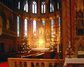 Photo: W kościele Macieja przed Wigilią