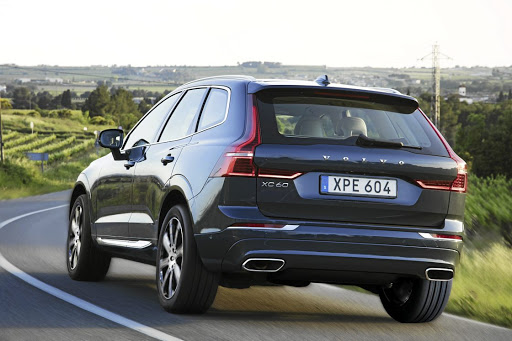 Those vertical tail lights still remain a design feature of the XC60. Picture: SUPPLIED