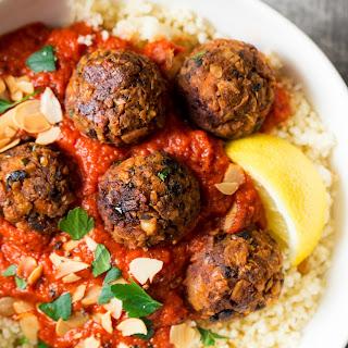 Vegan Meatballs (Moroccan-inspired).