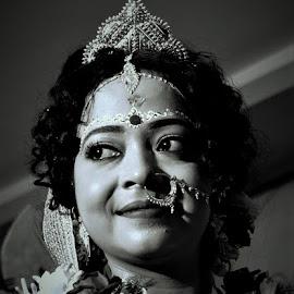 by Chandradeep Ghosh - People Portraits of Women