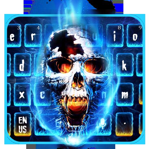Flame Skull keyboard