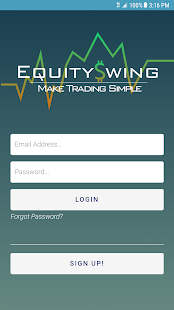 EquitySwing - náhled