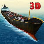 Cargo Ship Car Transporter 3D Icon