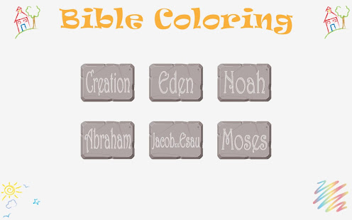 Bible Coloring for Kids Free for PC-Windows 7,8,10 and Mac apk screenshot 1