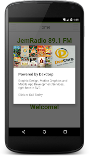 JemRadio 89.1 FM Saint Vincent- screenshot thumbnail