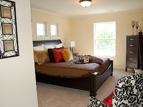 Photo: The master bedroom in our BAYBERRY model at our Whitehall Pointe condominium community in Albany, New York