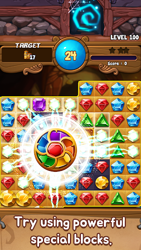 Jewels Time : Endless match apktreat screenshots 1