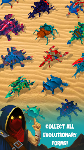 Spore Monsters.io 3D Wasteland Nomads Crab Turmoil screenshot 1